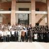 عکس دستجمعی دانشجویان رشته مدیریت اردیبهشت 1387 0